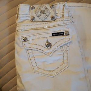 Miss me white Jean's size 25